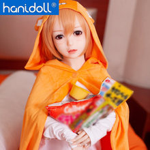 Hanidoll Silicone Sex Dolls 130 cm Love Doll TPE Full Sized Realistic Vagina Breast Anal Japanese Anime Sex Doll hdk 140 cm 4 5 ft silicone sex doll for men solid full size tit ass japanese sex robot realistic breast vagina love sex doll