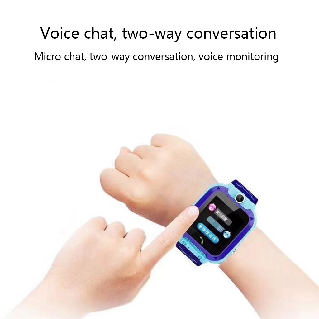 Image 3 - DS88 Kids Smart Watch Children Phone Watch IXP7 Waterproof SOS Call Monitor Touch Screen Anti Lost School Student Smart Watch-in Smart Watches from Consumer Electronics