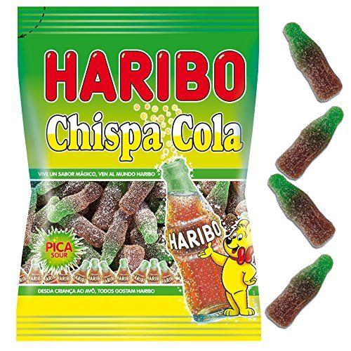 Haribo – Glitter Cola – Bonbons Aus Gummi Mit Colageschmack – 100 G