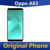 """Original Oppo A83 4G LTE Mobile Phone MTK6763T Android 7.1 5.7"""" 1440X720 4GB RAM 64GB ROM 13.0MP Face ID Dual Sim Octa Core 1"""