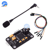 Voice Recognition Module Speech Sound Recognition Voice Control Board For Arduino Compatible With Microphone Dupont Jumper Wire