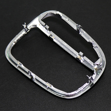 Chrome ABS Car Center Bezel Gear Shift Box Cover Edge Panel Trim Frame Decoration fit for Benz C Class W203 C230 C320 chrome car center console gear shift panel decorative strips water cup holder cover trim sticker for mercedes benz c class w204