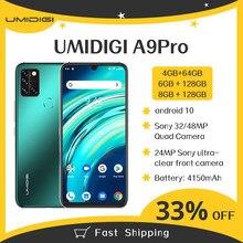 Umidigi a9 pro 4/6/8gb 64/128gb versão global 6.3