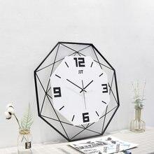 Новые металлические декоративные кварцевые многоугольные настенные