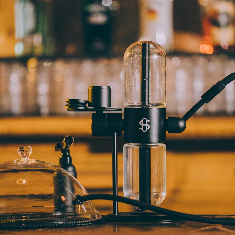 Premium Luxurious Gravity Pyrex Stundenglass Hookah Shisha Glass Bongs Weed Water Pipe 4