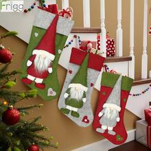 Christmas Gift Bags Stocking Xmas Tree Hanging Decor Merry Decorations for home  Navidad 2019 New Year
