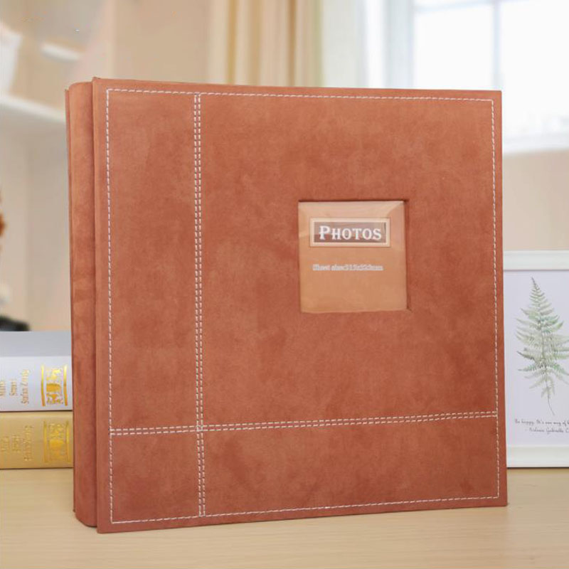 Holds  Photos Slip 6/8/12 inch Memo Photo Album Memory Notebook Picture Insert Almum for Kids Lovers Family
