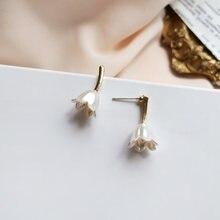 S925 иглы девушки подарок серьги Фея Дизайн деликатное ювелирное
