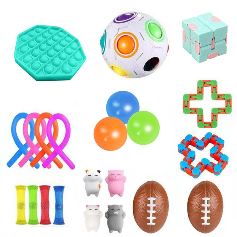 Fidget Toys Box Squishy Antistress Toy Multi-style Decompression Gifts For Kids And Adults img3