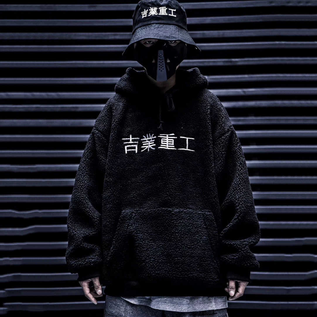 2019 Hot Fashion Hooded Winter Coat Men Thick Warm Mens Winter Jacket Hip Hop Japanese Street Style