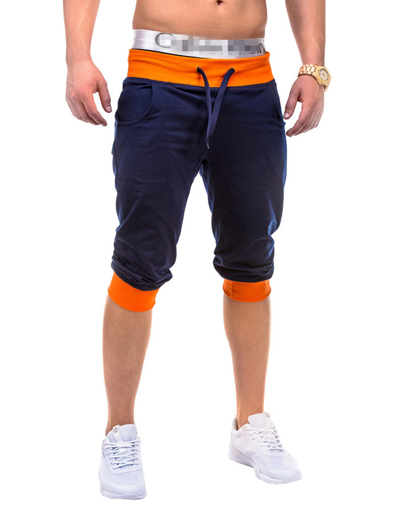 2019 New Style Summer European And American-Style Casual Sports Fitness Capri Men's Jogger Pants