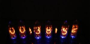 Image 5 - Zirrfa 5V kit DIY electrónico in8 in8 2 in12 in14 in16 in17 Nixie tubo digital LED reloj regalo circuito Junta kit PCBA, sin tubos