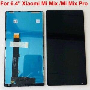 """Image 4 - 100% oryginalny dla 6.4 """"Xiaomi Mi Mix /Mi Mix Pro 18k wersja ekran wyświetlacz LCD + Digitizer Panel dotykowy rama dla MI Mix wyświetlacz"""