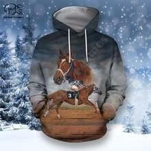 Уличная одежда plstar cosmos с изображением животных лошадей