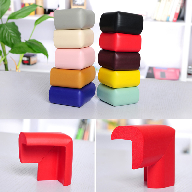 8pcs/set Baby Safety Corner Protector Furniture Corners Angle Protection Child Safety Tape Edge Corner Guards