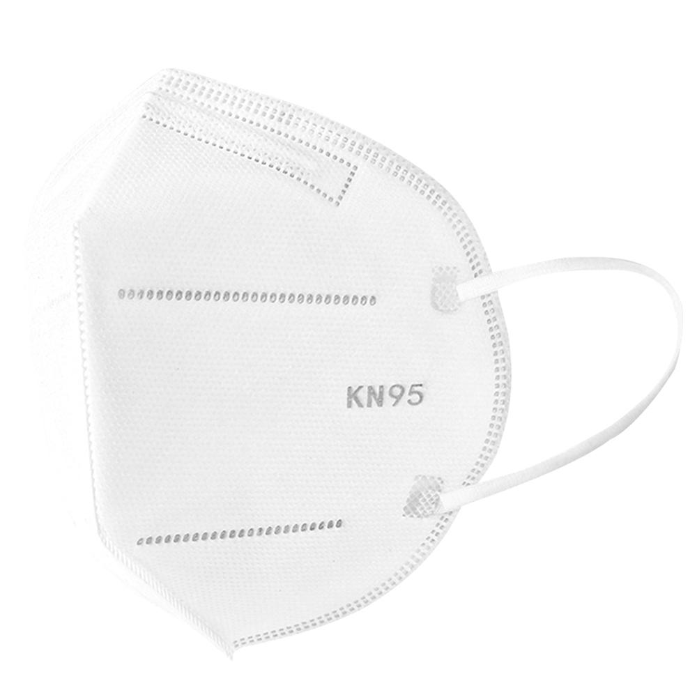 Image 4 - 20PCS KN95 Masks Non woven Anti Dust Mouth Face Cover Safety  Protective Earloops Face Mouth mask K n95 mask DustproofMasks   -