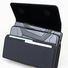 المزدوج الهاتف الحافظة ل 2 الهواتف النايلون حزام كليب حافظة للآيفون 11 برو ماكس Samusng نوت 10 زائد غالاكسي S9 زائد S10 زائد