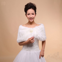 Rice white wool shawl autumn and winter etiquette decorative