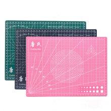 А4 коврики для резки односторонняя доска самовосhealing вающаяся режущая площадка Лоскутные инструменты ручной DIY самовосhealing вающаяся сетка для резки