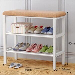 Image 5 - رف أحذية خزانة خذاء رف للأحذية منظم تخزين أثاث منزلي قابل للتركيب سزافكا نا بيتي شوينريك W0361