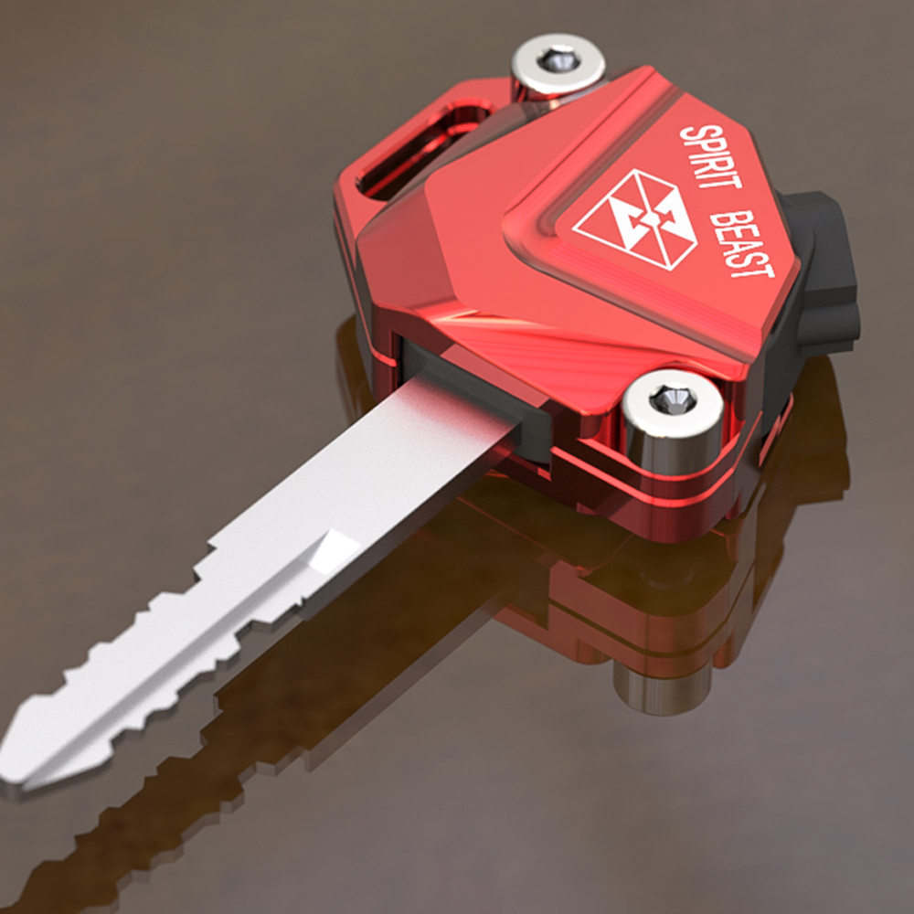 SPIRIT BEAST Motorcycle Key Cover Case Shell CNC Aluminum Accessories For Honda