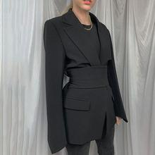 Новинка 2021 повседневный костюм пальто регулируемый свободный