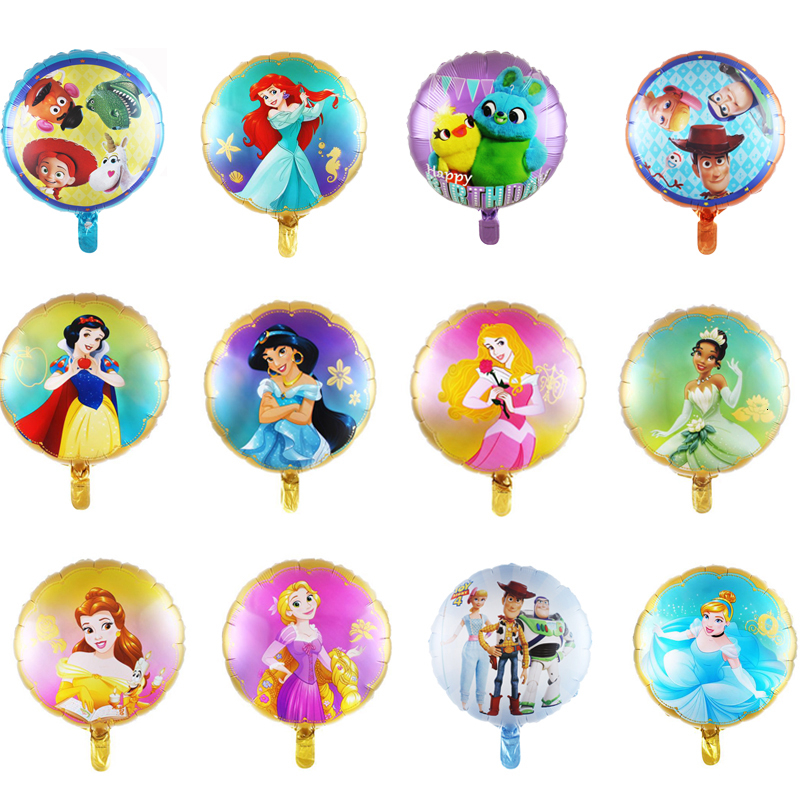 1pc 18inch Cartoon foil balloons birthday party decorations kids party supplies toys babyshowers inflatable helium globos