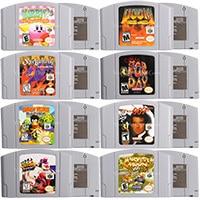 Image 1 - 64 Bits jeux vidéo cartouche jeux Console carte Conkers Bad Fur Day langue anglaise Version américaine pour Nintendo