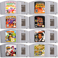 64 Bits jeux vidéo cartouche jeux Console carte Conkers Bad Fur Day langue anglaise Version américaine pour Nintendo