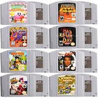 64 비트 비디오 게임 카트리지 게임 콘솔 카드 Conkers Bad Fur Day 영어 버전 Nintendo 용 미국 버전