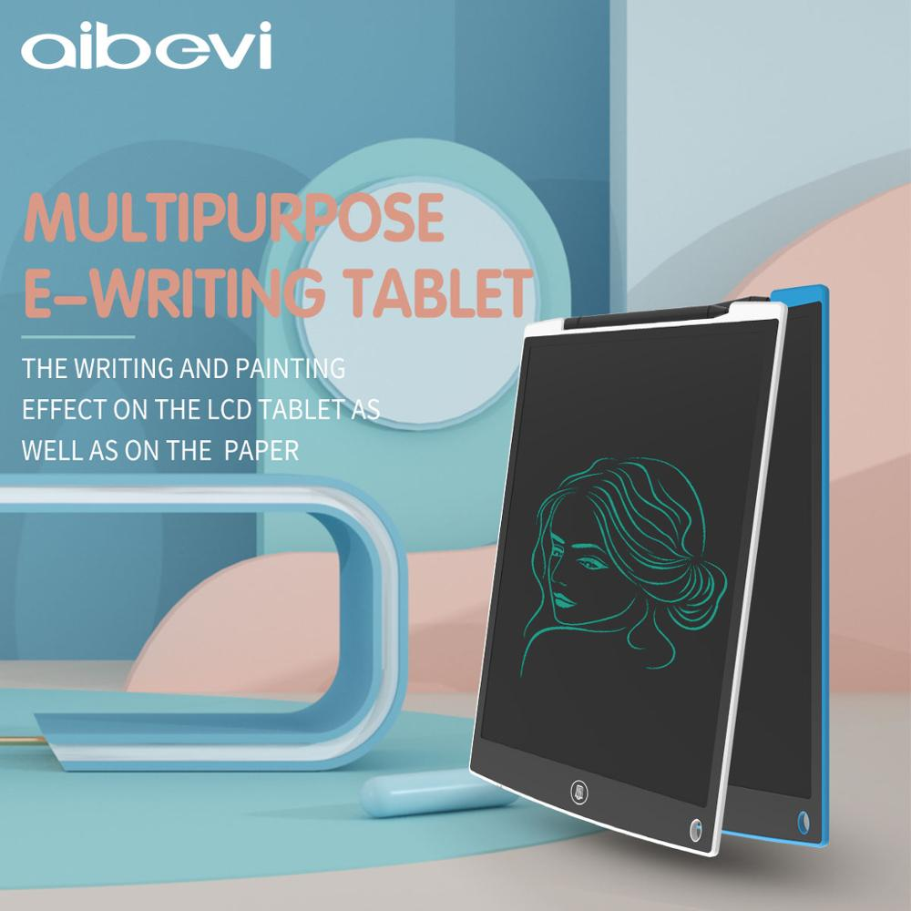 Aibevi LCD Writing Tablet 12 inch Electronic Graphics Tablet 12'' for Drawing Digital Erasable Drawing Tablet Pad Board For Kids