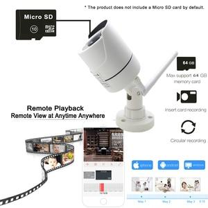 Image 3 - Jienuo câmera residencial, vigilância externa sem fio 5mp ip áudio cctv à prova d água 1080p alta definição onvif wi fi câmera doméstica
