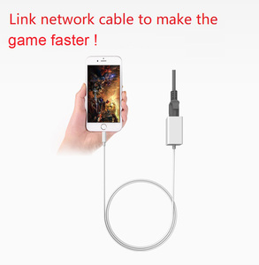 Image 2 - Phone Ethernet Adapter To RJ45 LAN Wired Network Link Charger Cable for IPhone 11 Pro Xs MAX XR 6 7 8 Plus for IPad Internet