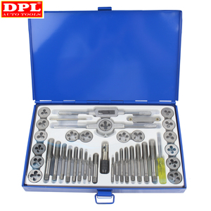 Image 1 - 40pc Professional Tap and Die Set Metric M3 to M12 Set In Case Steel Thread Tool