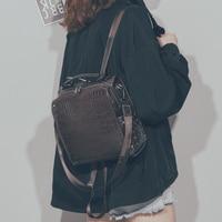 Retro Cute Girl Backpack Small Backpack Fashion Crocodile Backpack Travel Bag B 522