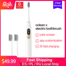 Xiaomi Electric Toothbrush Sonic Upgraded Usb Rechargeable Global-Version Oclean X Waterproof