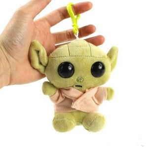 11-30 см Детский плюшевый йода игрушка мастер плюшевый йода Подвески мягкие животные куклы для брелков подарки на день рождения для детей