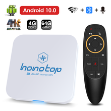 2021 nova caixa de tv android 10 wifi 2.4g & 5.8g 4gb ram 64g bluetooth google voz assistente play store muito rápido 4k 3d caixa de tv inteligente