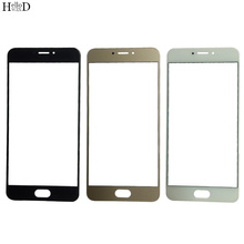 5.5'' Front Outer Glass Lens Replacement Part For For Meizu MX6 ( No Touch Screen ) Front Glass Cover LCD Outer Glass + OCA Glue