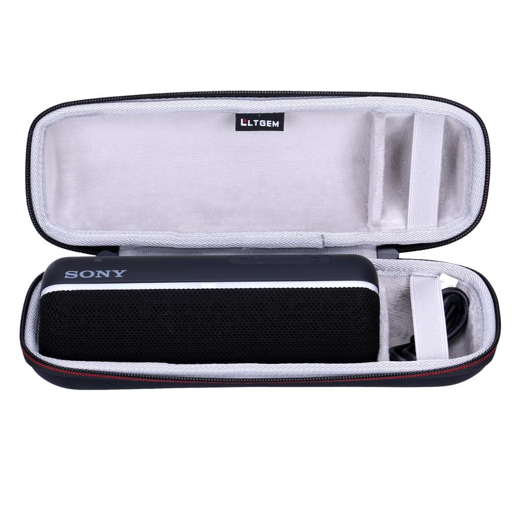 LTGEM водонепроницаемый жесткий чехол из ЭВА для Sony, портативный Bluetooth-динамик с дополнительным басом для Sony SRS-XB22
