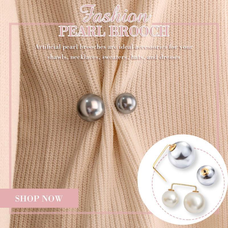 Fashion Pearl Brooch Fashion Pearl Brooch   Women Lapel Anti Glare Safety Brooch Pins|Temperature Gauges|   - AliExpress