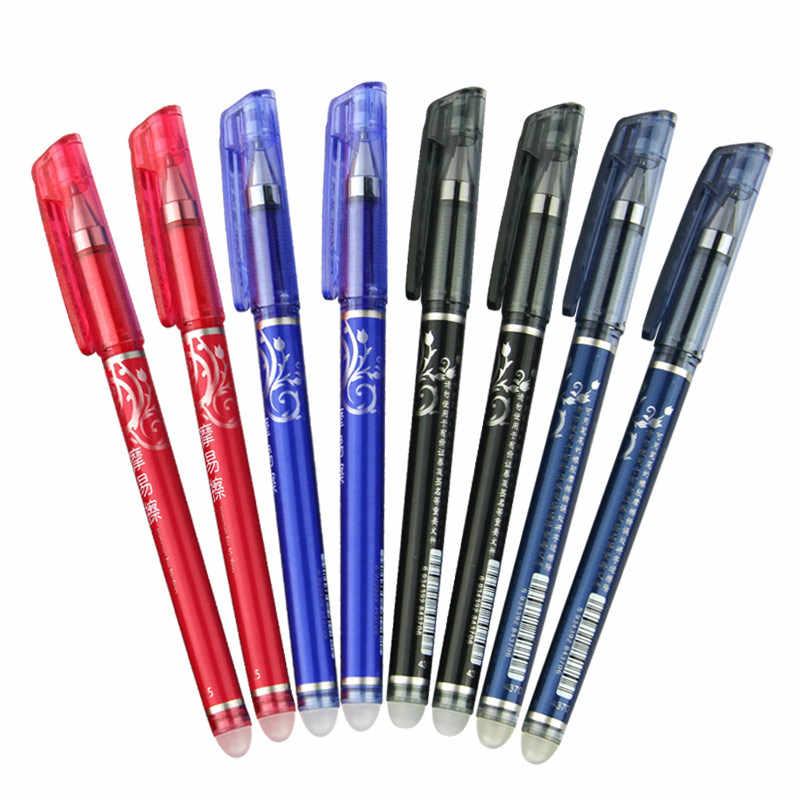 1 قطعة الأرض الأزرق قابل للمسح هلام القلم الملء قضيب 0.5 مللي متر الحبر الأزرق/الأسود/الأحمر قابل للغسل مقبض مجموعة اللوازم المكتبية المدرسية القرطاسية