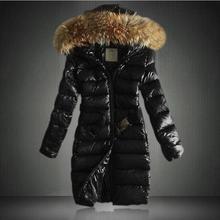 Women cotton coat long hooded Slim jacket winter new large size fur collar fashion thick warm jacket coat S-3XL цены онлайн