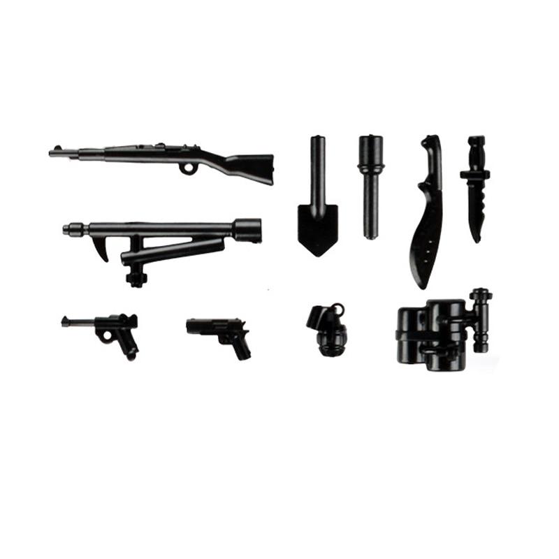 lego military weapons guns blocks 5