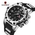 KADEMAN мужские часы лучший бренд класса люкс модные водонепроницаемые военные спортивные цифровые часы Мужские кварцевые наручные часы Relogio ...