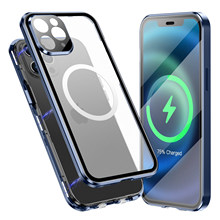 Magnetic Attraction Case for iPhone12/12 Pro/12 Pro Max/Mini, Compatible with Magsafe 360 Degree Full Body Protection Back Cover