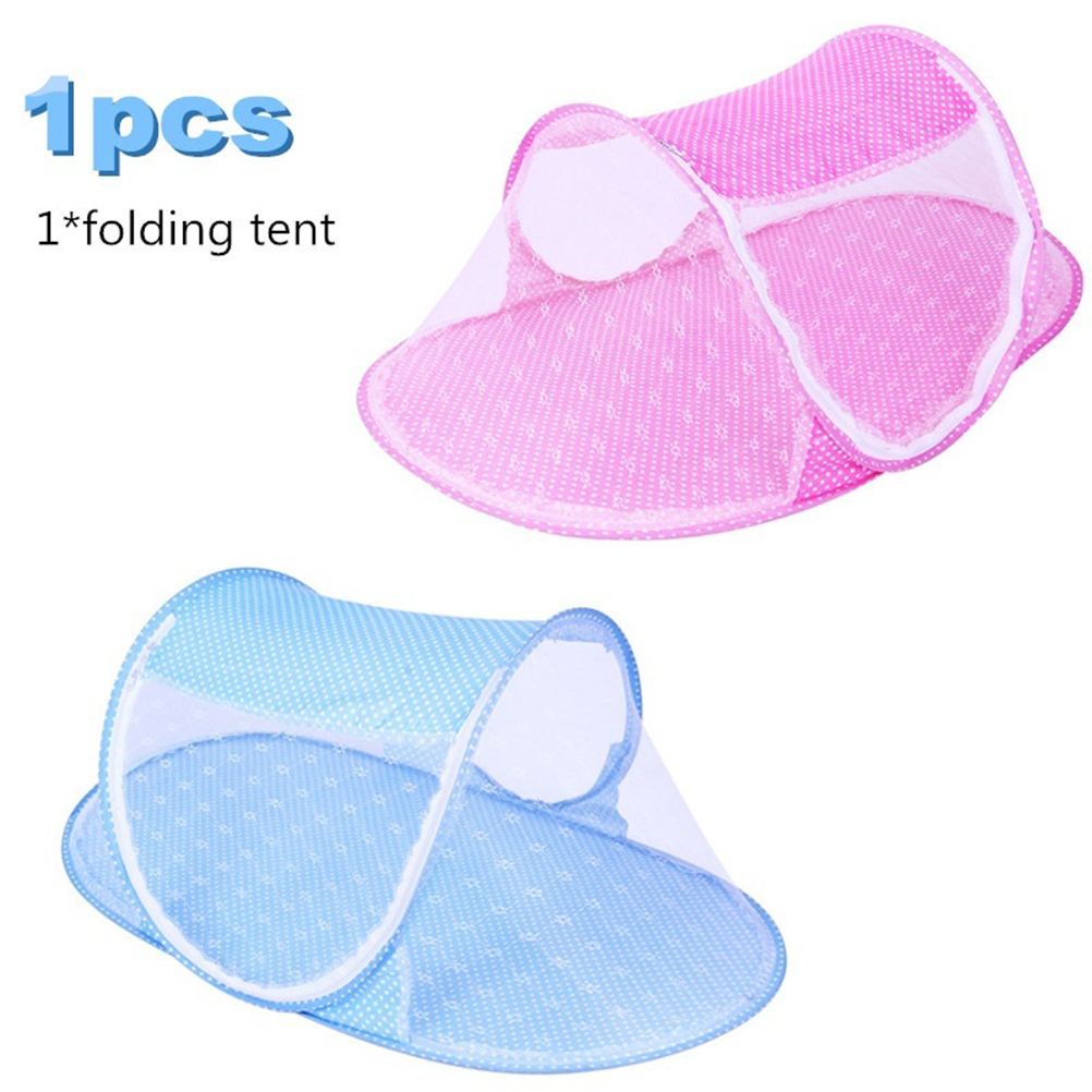 New Portable Foldable Baby Bed Mosquito Net Polyester Newborn Sleep Bed Travel Bed Baby mosquito net free shipping