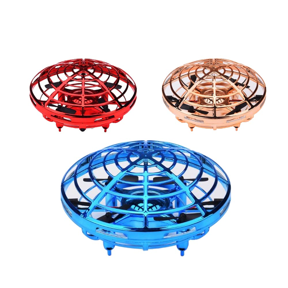 KaKBeir Rc Quadcopter Flying Helicopter Magic Hand UFO Ball Aircraft Sensing Mini Induction Drone Kids Electric Electronic Toy 3