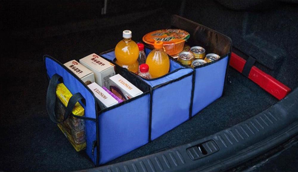 Универсальный автомобильный органайзер для хранения багажник складные ящики для хранения игрушек, продуктов грузовой контейнер сумки черный ящик автомобиль Укладка Уборка