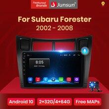 Junsun V1 pro 2G + 128G Android 10 para Toyota Yaris XP90 2005 - 2012 auto Radio Multimedia reproductor de Video GPS de navegación 2 din dvd